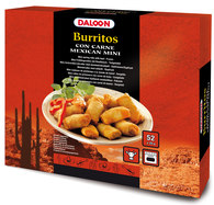 Mini-Burritos con carne 52x20g
